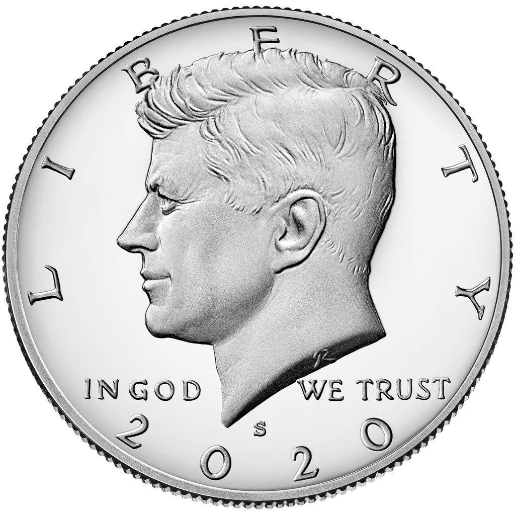 2020 S Silver Proof Kennedy Half Dollar Half Dollar Proof