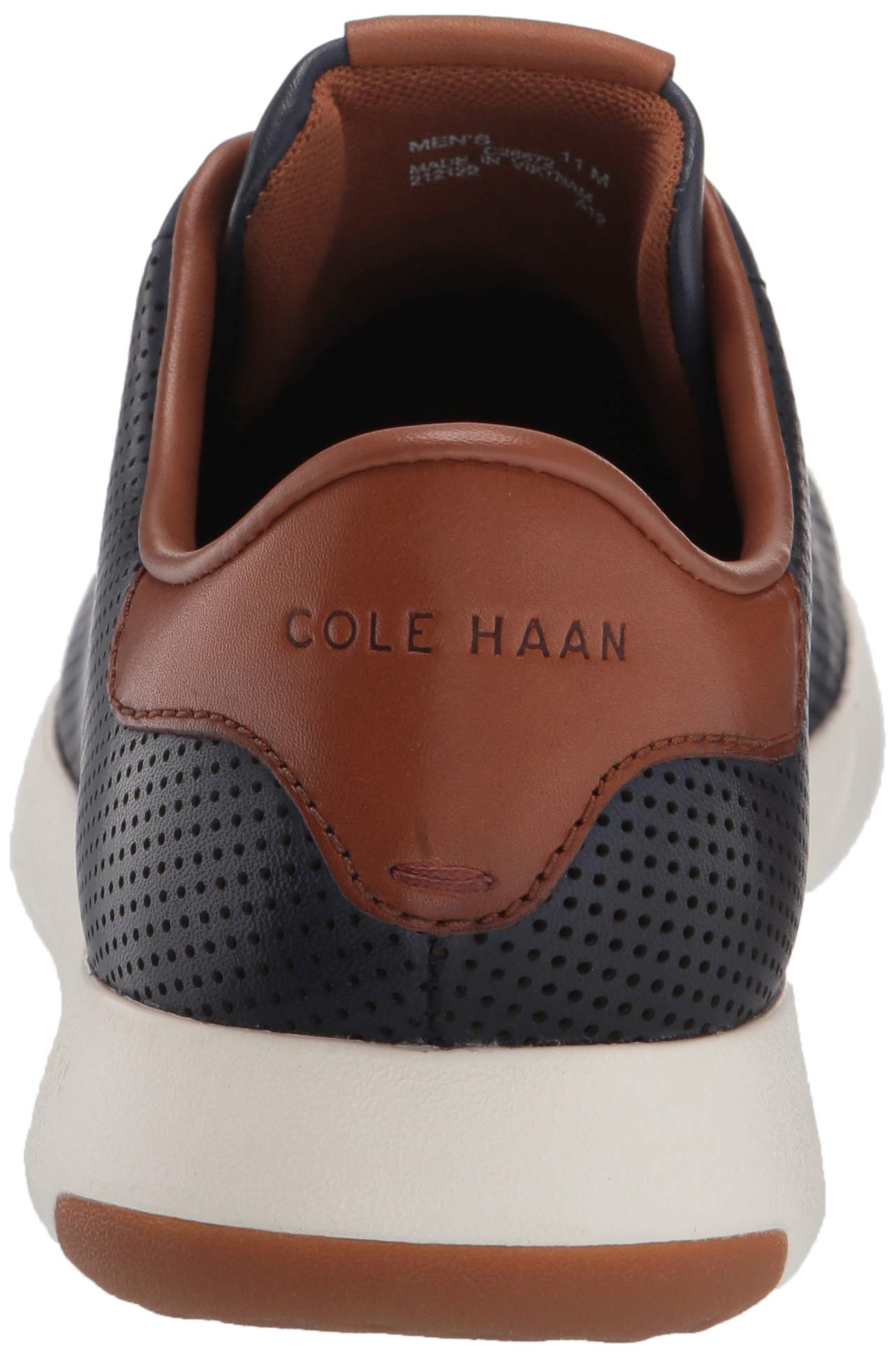 Cole Haan Mens Grandpro Tennis Sneaker 7 Navy Handstained Leather by Cole Haan (Image #2)