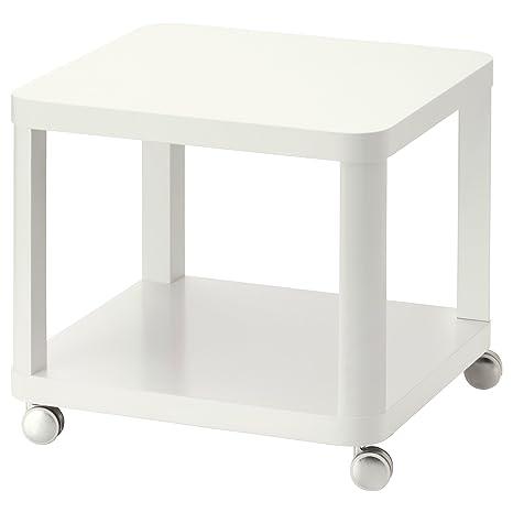Zigzag Trading Ltd IKEA TINGBY - Mesa Auxiliar con Ruedas Blanca