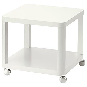 Zigzag Trading Ltd IKEA TINGBY - Mesa Auxiliar con Ruedas Blanca: Amazon.es: Hogar