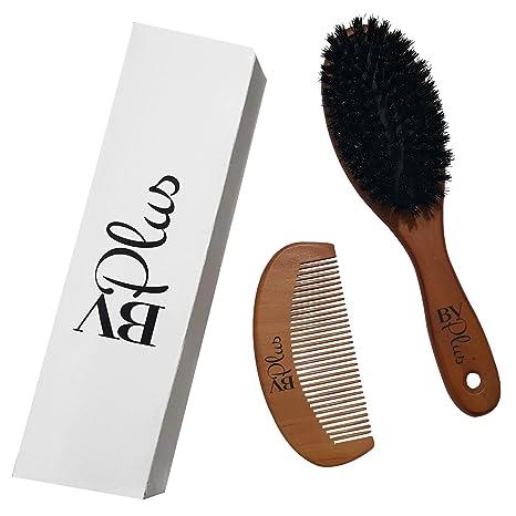 Review Boar Bristle Hair Brush