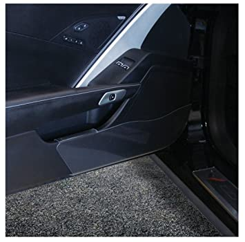 Corvette Door Kick Panel Clear Acrylic : C7 Stingray, Z51, Z06