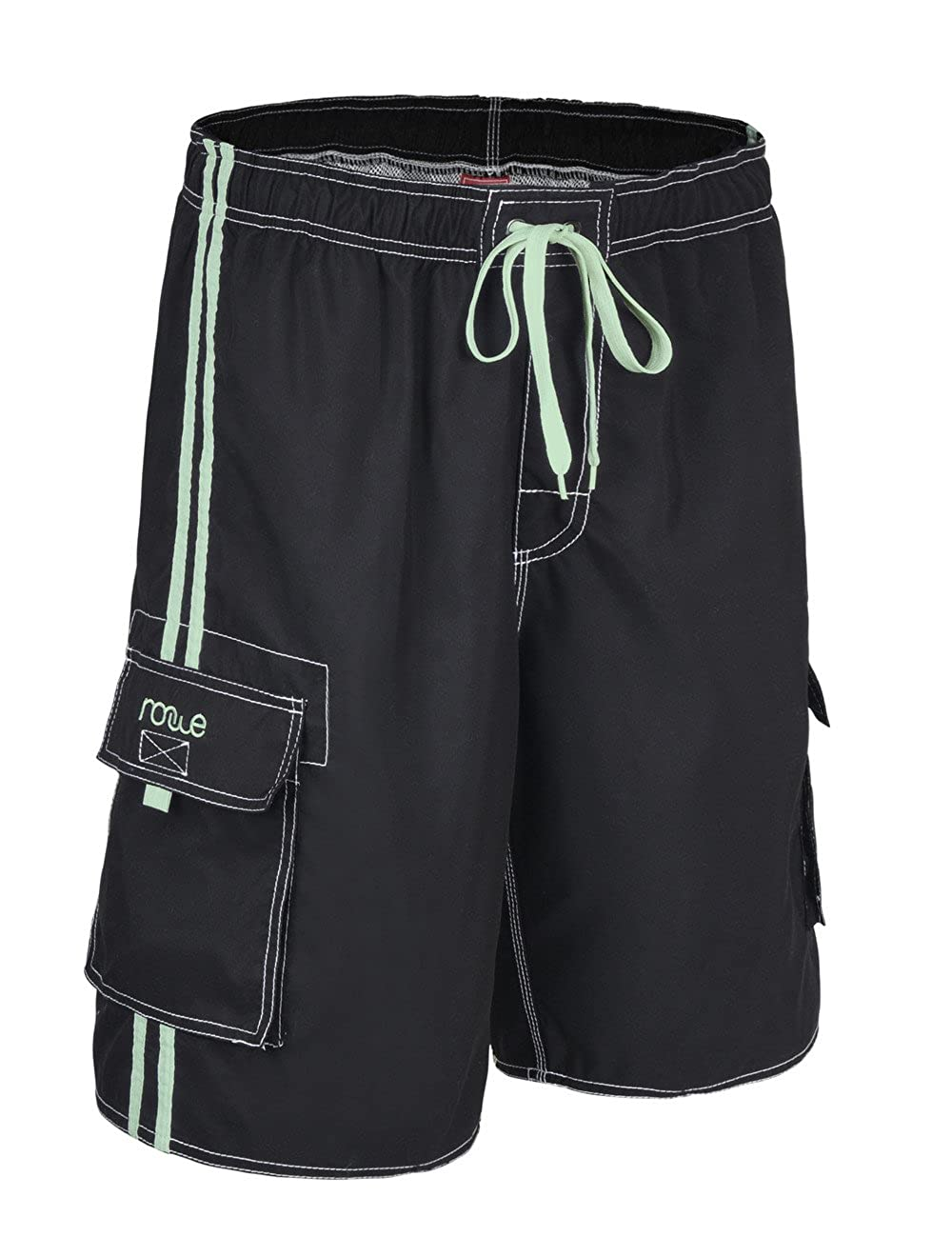 501f0bd7ce Nonwe Men's Beachwear Board Shorts Quick Dry with Mesh Lining Swim Trunks |  Amazon.com