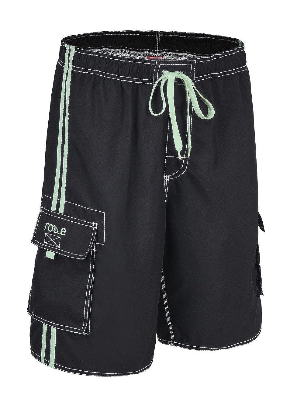 501f0bd7ce Nonwe Men's Beachwear Board Shorts Quick Dry with Mesh Lining Swim Trunks |  Amazon.com