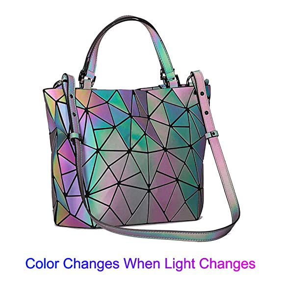 Amazon.com: Geométrico Luminoso Monederos y Bolsos ...