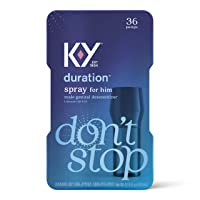 Duration Spray for Men, K-Y Male Genital Desensitizer Numbing Spray to Last Longer...