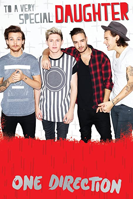 Buy Official One Direction 1d Birthday Card Daughter Online At
