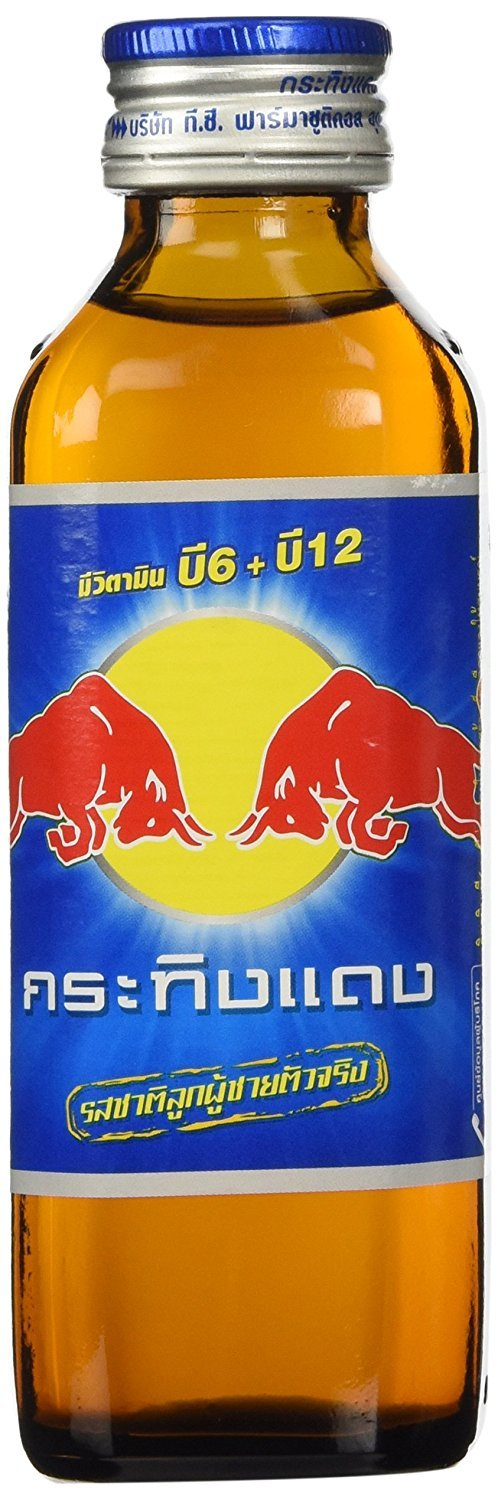 Thai Red Bull Krating Daeng Original Energy Drink 150ml