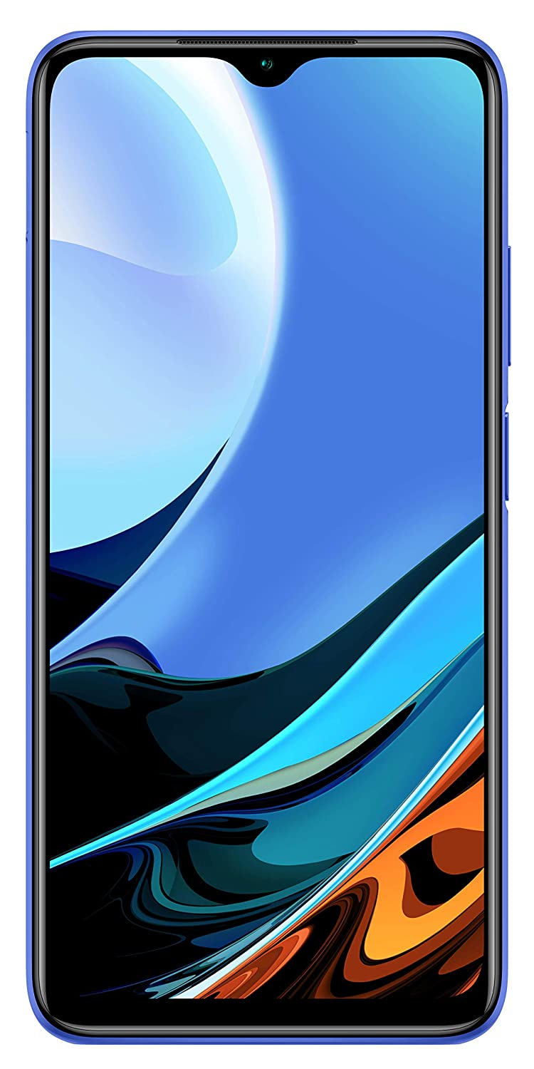 Redmi 9 Power (Blazing Blue, 4GB RAM, 64GB Storage) - 6000mAh Battery | 48MP Quad Camera | Extra INR 1000 Amazon Pay Cashback