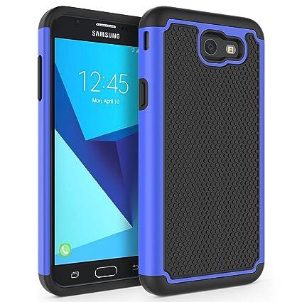Case for Samsung Galaxy J7 V 2017 (1st Gen)/ Galaxy J7 2017 / Galaxy J7 Prime/Galaxy J7 Perx/Galaxy J7 Sky Pro/Galaxy Halo, SYONER [Shockproof] ...