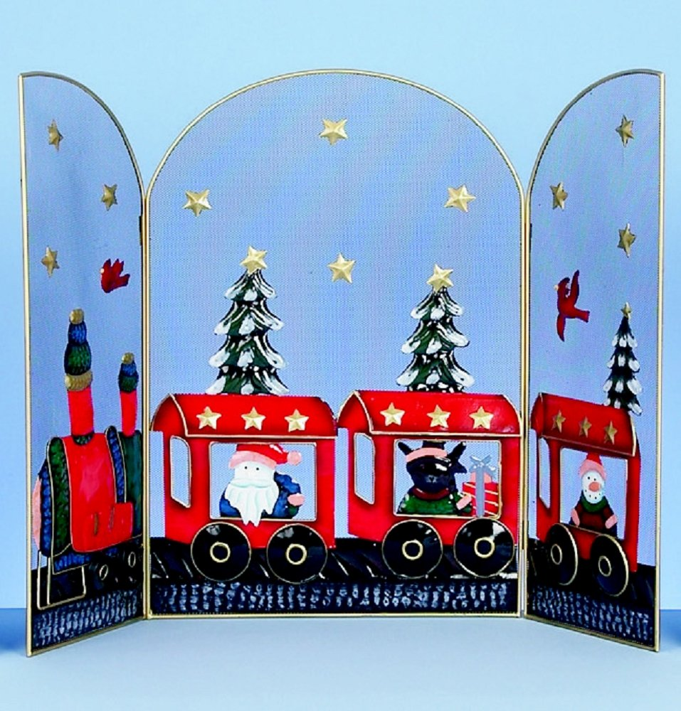 christmas fire guard 2 designs u0026 2 sizes avaliable santa with