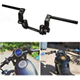 """INNOGLOW 7/8"""" Motorcycle Handlebar Adjustable Steering Handle Bar Set Kit System 22mm Fit for most 125cc scooter"""