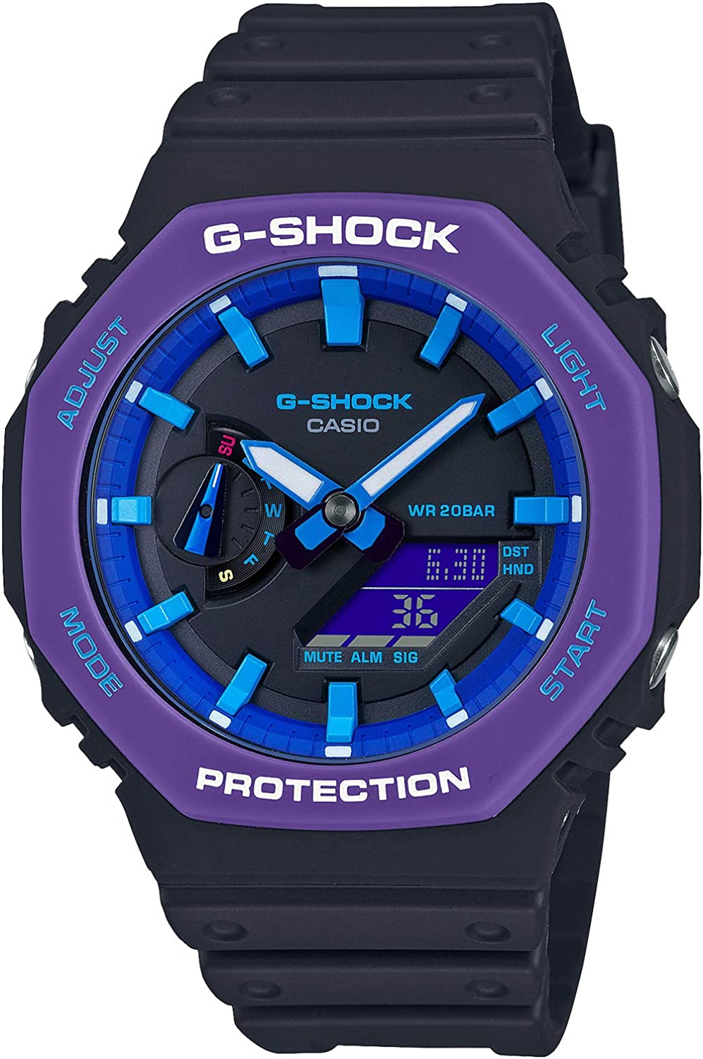 Casio G-shock Throwback 1990s Carbon Core Guard GA-2100THS-1AJR Mens