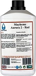 Mayhems Aurora Red Premixed Watercooling Fluid 1 Litre