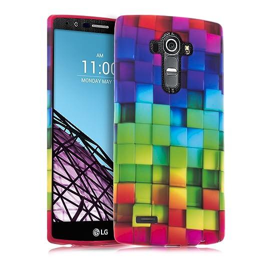 12 opinioni per kwmobile Cover per LG G4- Custodia in silicone TPU- Back case protezione