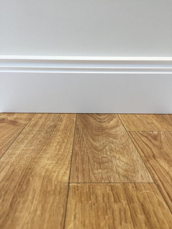 PVC Platten strapazierf/ähig /& pflegeleicht Fu/ßbodenheizung geeignet PVC-Boden Classic Holz Ahorn Schiffsboden robuster /& rutschhemmender Fu/ßboden-Belag Vinylboden 4m Breite /& 2,5m L/änge
