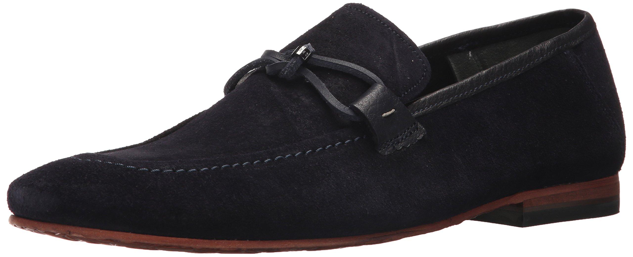 Ted Baker Men's Hoppken Loafer, Dark Blue, 11.5 D(M) US
