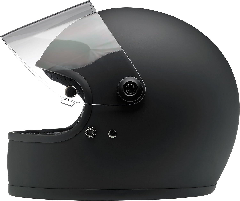 Biltwell Gringo S Full Face Helmet Flat Black, Small