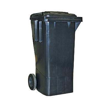 TODAMI Sulo - Contenedor de basura con ruedas (80 L), color gris: Amazon.es: Hogar
