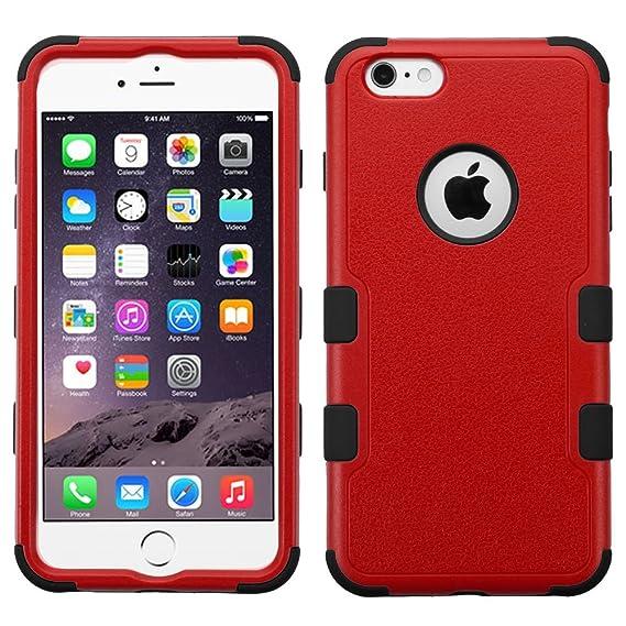 c80fbd07704 Mybat Funda Case para iPhone 6s PLUS / iPhone 6 PLUS Doble Protector de Uso  Rudo