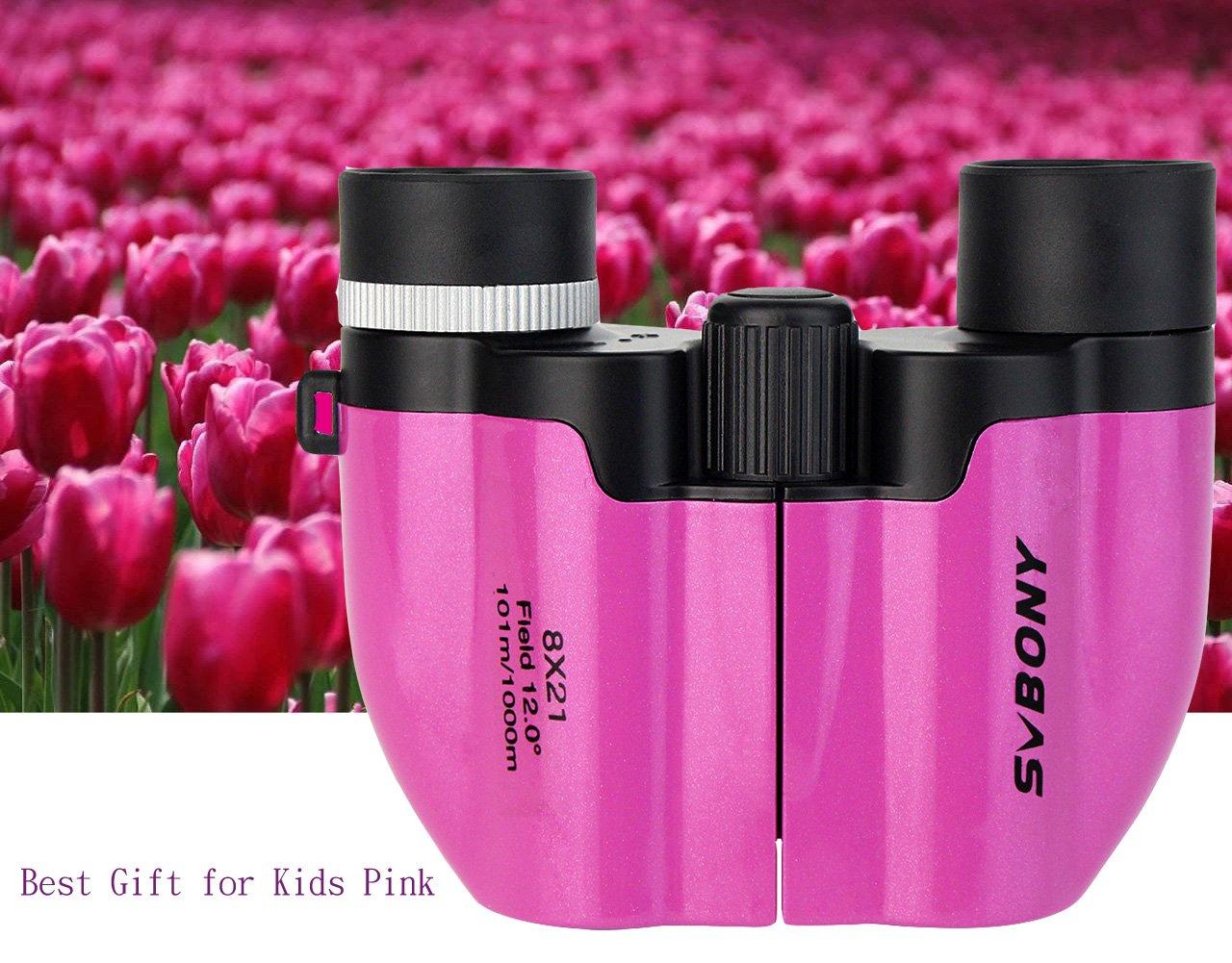Svbony sv fernglas für kinder ultra kompakt mini binocular