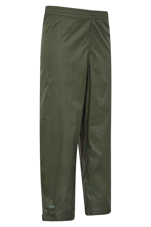 Mountain Warehouse Pakka Kids Rain Pants Waterproof Overpants