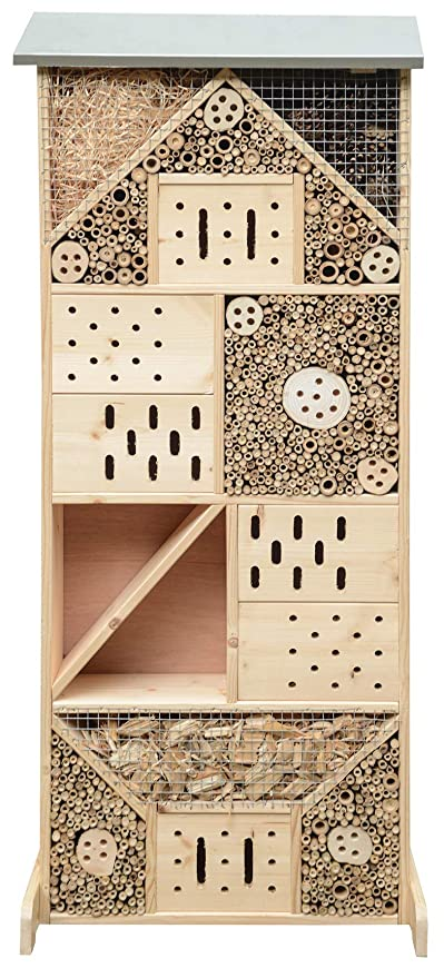 Gardigo Insektenhotel Xxxl I Insektenhaus 120 Cm Groß Aus Holz I