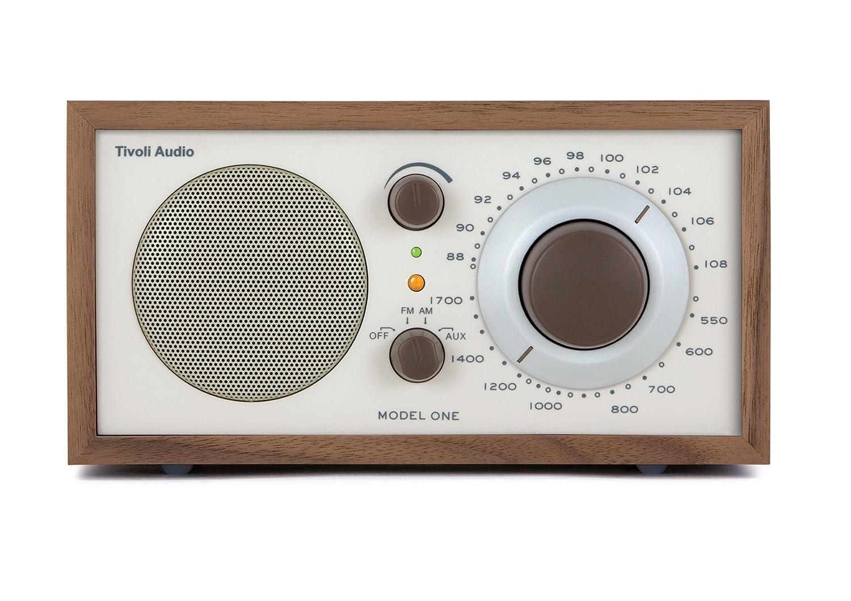 Hypermoderne Tivoli Model One UKW-/MW-Radio in Kirsche/Silber: Amazon.de SK-29