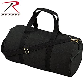 a137a92056a8 Amazon.com  Rothco Canvas Shoulder Duffle Bag - 19 Inch  Clothing