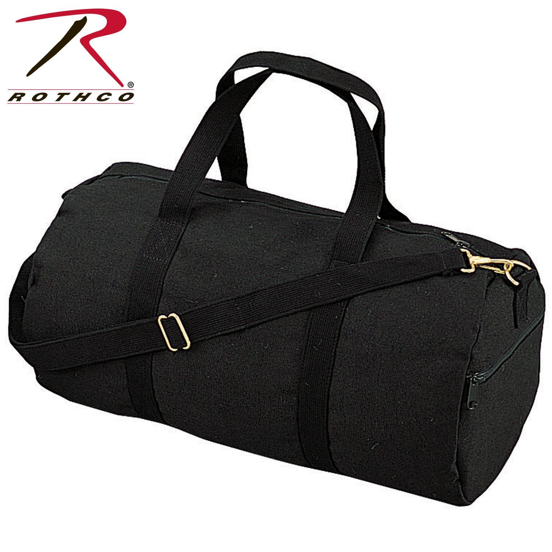 Rothco 19'' Canvas Shoulder Bag (Black)