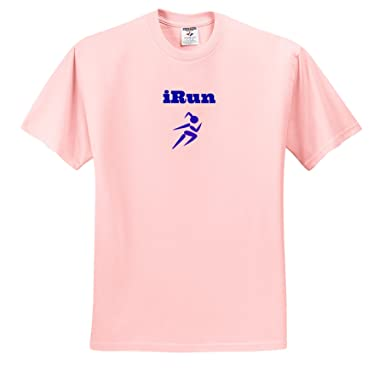 Amazon.com: 3dRose Xander sports sayings - I run, picture of ...