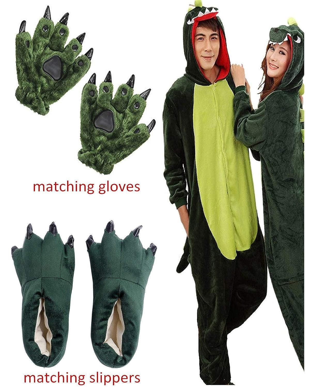 ReachMe Adult Animal Onesies Pajamas Stitch Skeleton Dinosaur Costumes Loungwear Pjs