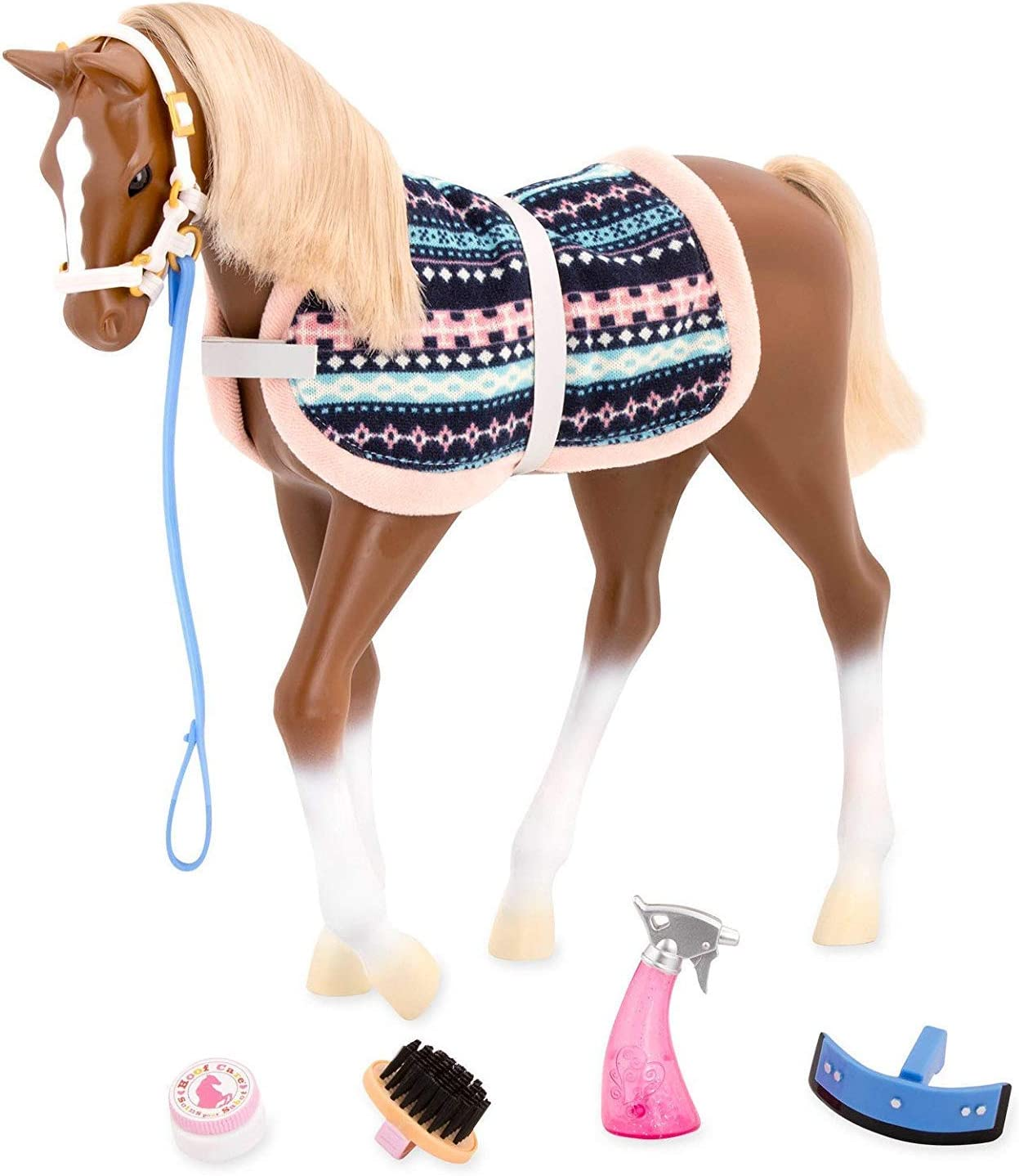 Our Generation BATTAT 18 Inch Quarter Horse Foal w// Accessories NEW Doll