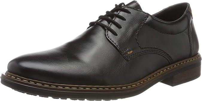 TALLA 44 EU. Rieker 17619-00, Zapatos de Cordones Derby Hombre