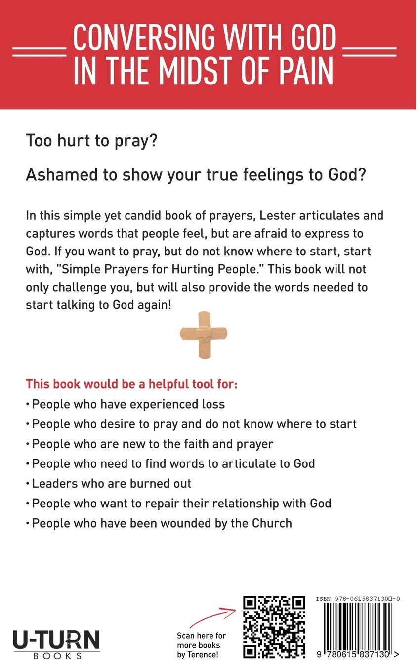 Simple Prayers for Hurting People: Conversing with God in
