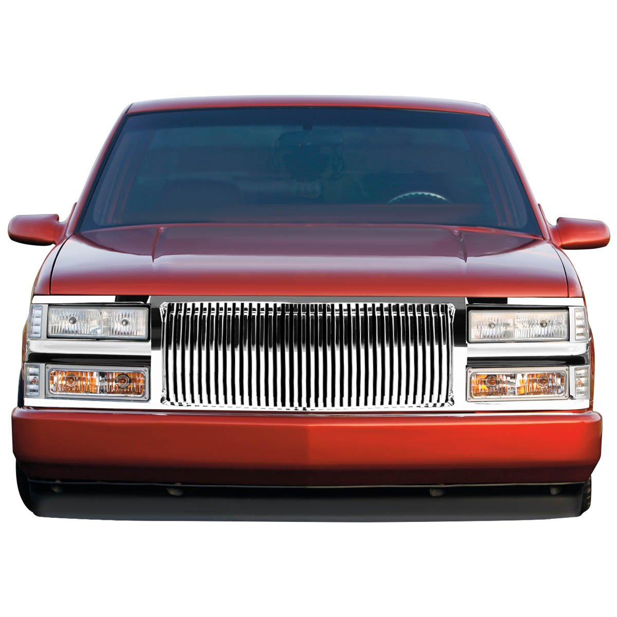 All Chevy 98 chevy bumper : Amazon.com: Chevy C/K Series Front Vertical Fence Style Bumper ...
