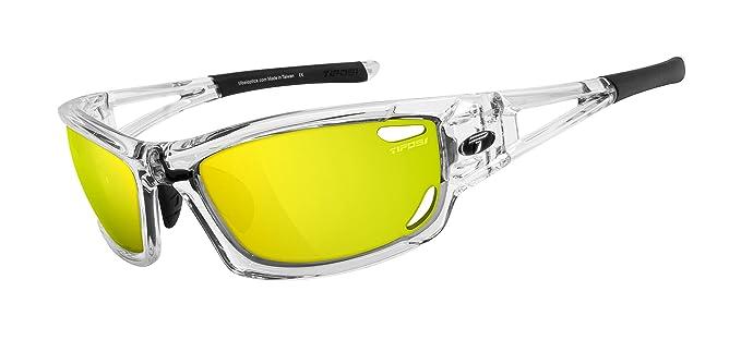 1aa6c4aa95c Tifosi Dolomite 2.0 Crystal Clear Interchangeable Sunglasses  Amazon ...