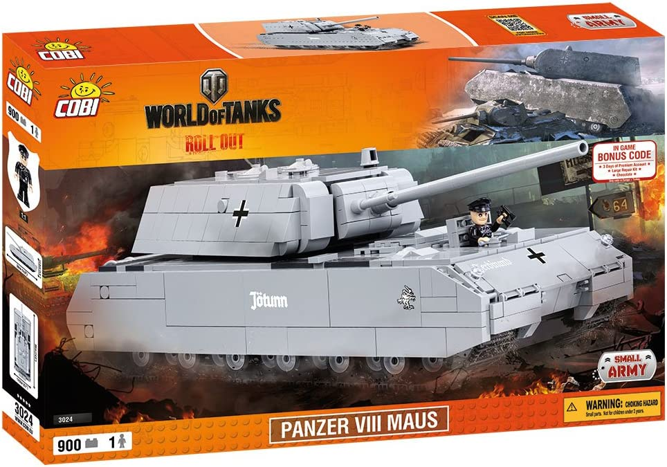 COBI World of Tanks Panzer VIII Maus Tank