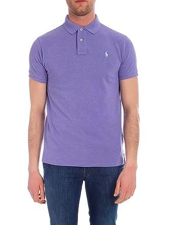 Ralph Lauren Luxury Fashion Hombre 710536856170 Morado Polo ...
