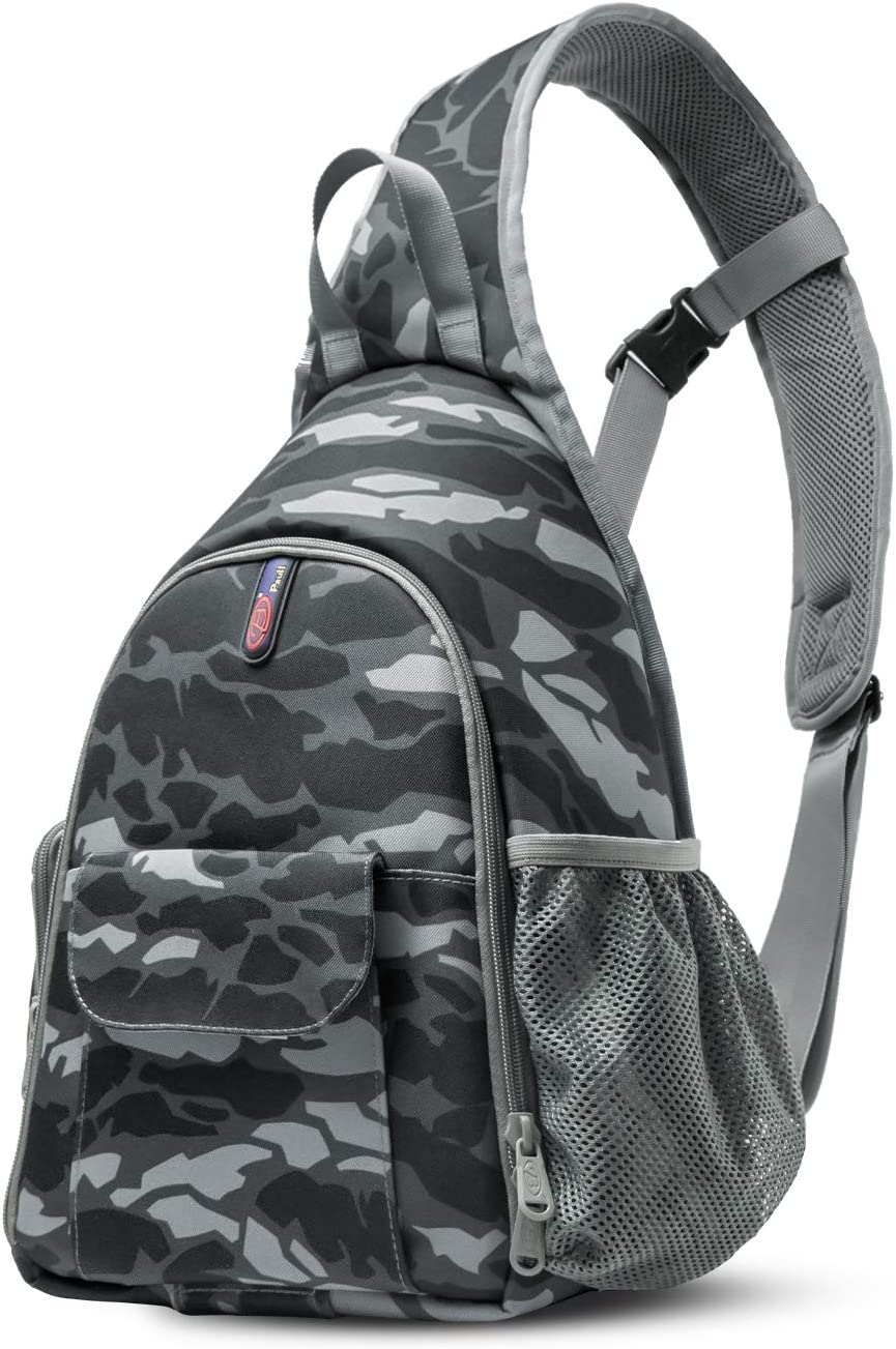 DSLR Camera Bag Waterproof Camera Sling Backpack with Rain Cover Outdoor Travel Backpack Camera Bag Case for Laptop Canon Nikon Sony Pentax DSLR Cameras,Lens,Tripod and Accessories (Camouflage)