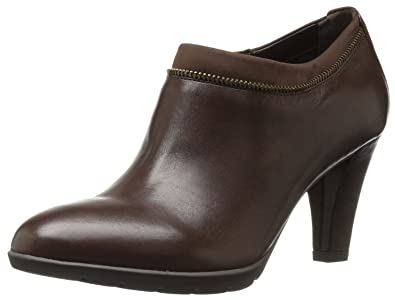Anne Klein Womens Dalayne Ankle Bootie       Dark Brown
