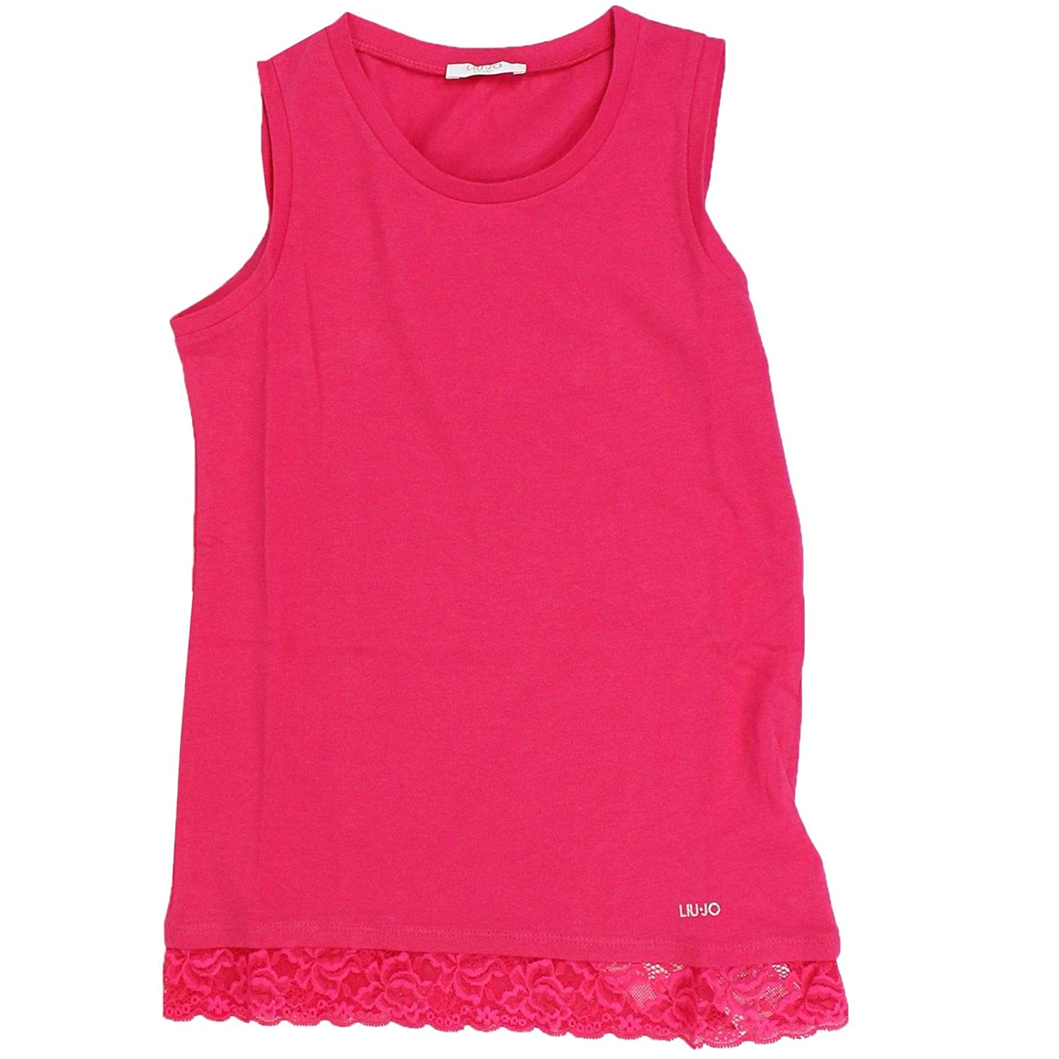 Taille Fabricant 16yrs Liu Jo Fille G19013J500381945 Rouge Coton Tank Top