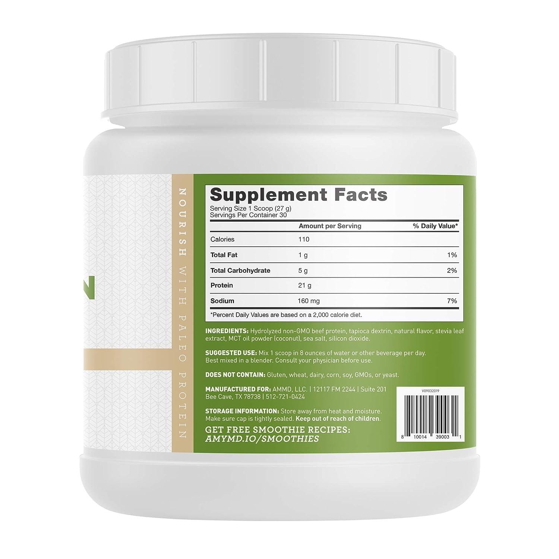 Amazon.com: La manera Myers® Paleo Protein – 30 Porciones de ...