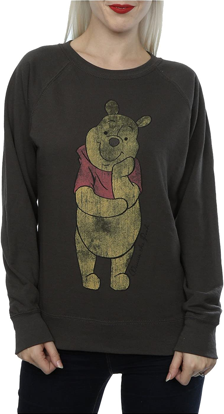 Disney Damen Classic Winnie The Pooh Sweatshirt