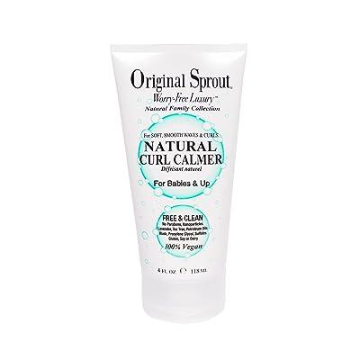 Original Sprout Natural Curl más tranquilo para rizos y ondas apretados y Mediana Crespo 118 ml