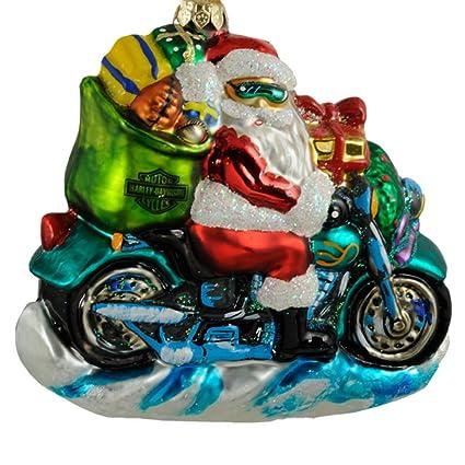 free wheeling santa christopher radko christmas ornaments 1997 97 har 01