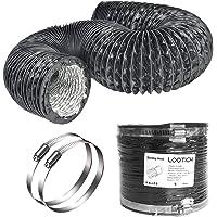 LOOTICH Fuerte Tubo Flexible de Aluminio PVC Ø150mm