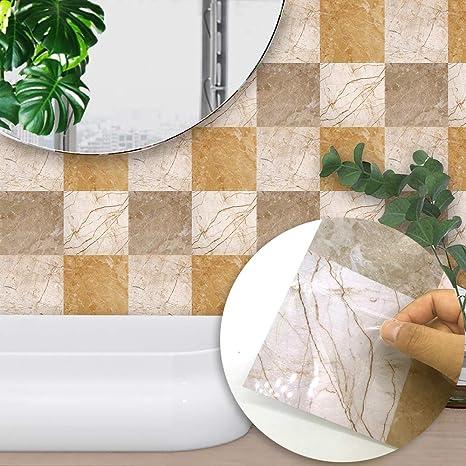 10PCS marmo modello piastrelle adesivi Italia piastrelle di ...