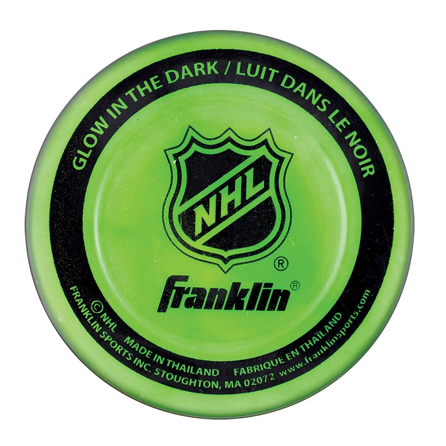 Amazon.com: Franklin Sports Street Hockey Puck Combo Set – 3 ...