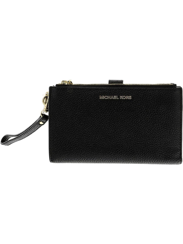 TALLA Talla única. Michael Kors Women's Adele Smartphone Leather Wristlet